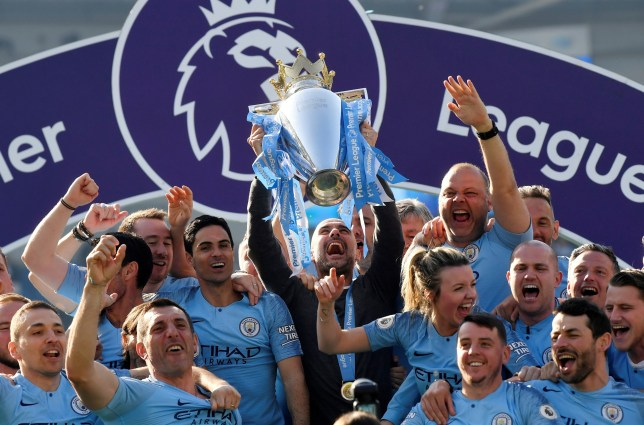 Man City win the Premier League