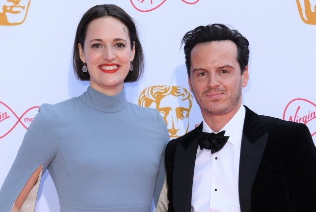 Phoebe Waller-Bridge and Andrew Scott British Academy Television Awards