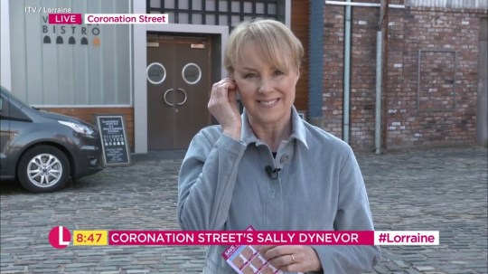 Sally Dynevor on Lorraine