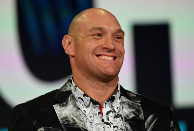 Boxing - Tyson Fury Press Conference - Queen Elizabeth Olympic Park, London, Britain - May 13, 2019 Tyson Fury during the press conference Action Images via Reuters/Tony O'Brien