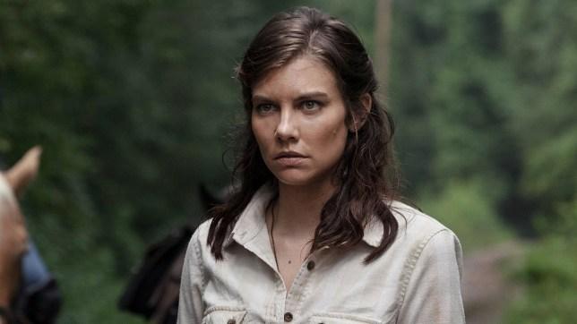 Lauren Cohan as Maggie in The Walking Dead (Picture: AMC)