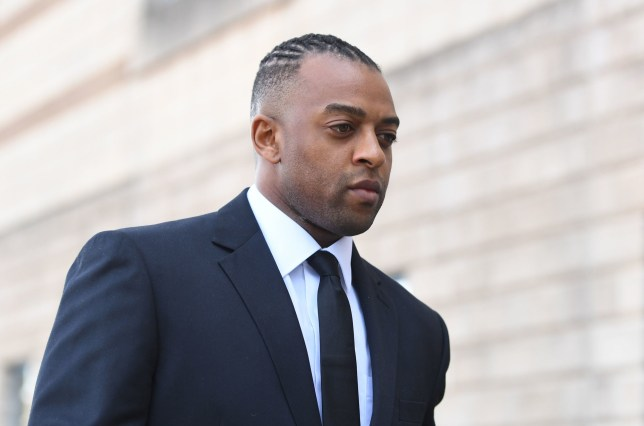 Former JLS star Oritse Williams arrives at Wolverhampton Crown Court where he is due to go on trial charged with raping a woman after a concert. PRESS ASSOCIATION Photo. Issue date: Tuesday May 14, 2019. The singer pleaded not guilty to rape during a court hearing in November last year. Williams, who enjoyed chart success after shooting to fame on The X Factor in 2008, was arrested in December 2016 following allegations he had attacked a woman at a hotel. The 32-year-old, of Croydon, south London, is due to stand trial with co-defendant Jamien Nagadhana. See PA story COURTS Williams. Photo credit should read: Joe Giddens/PA Wire