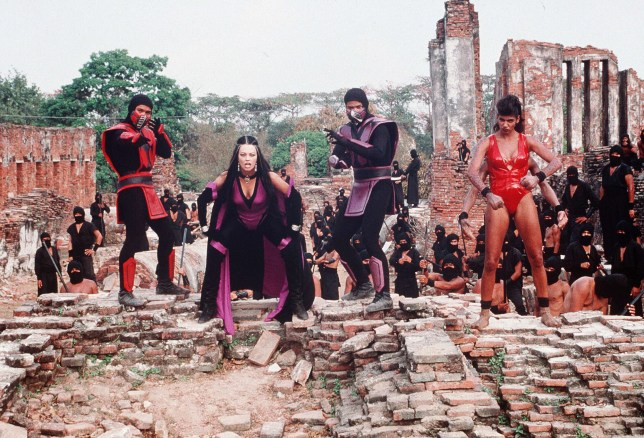 Various characters in 1998 movie Mortal Kombat