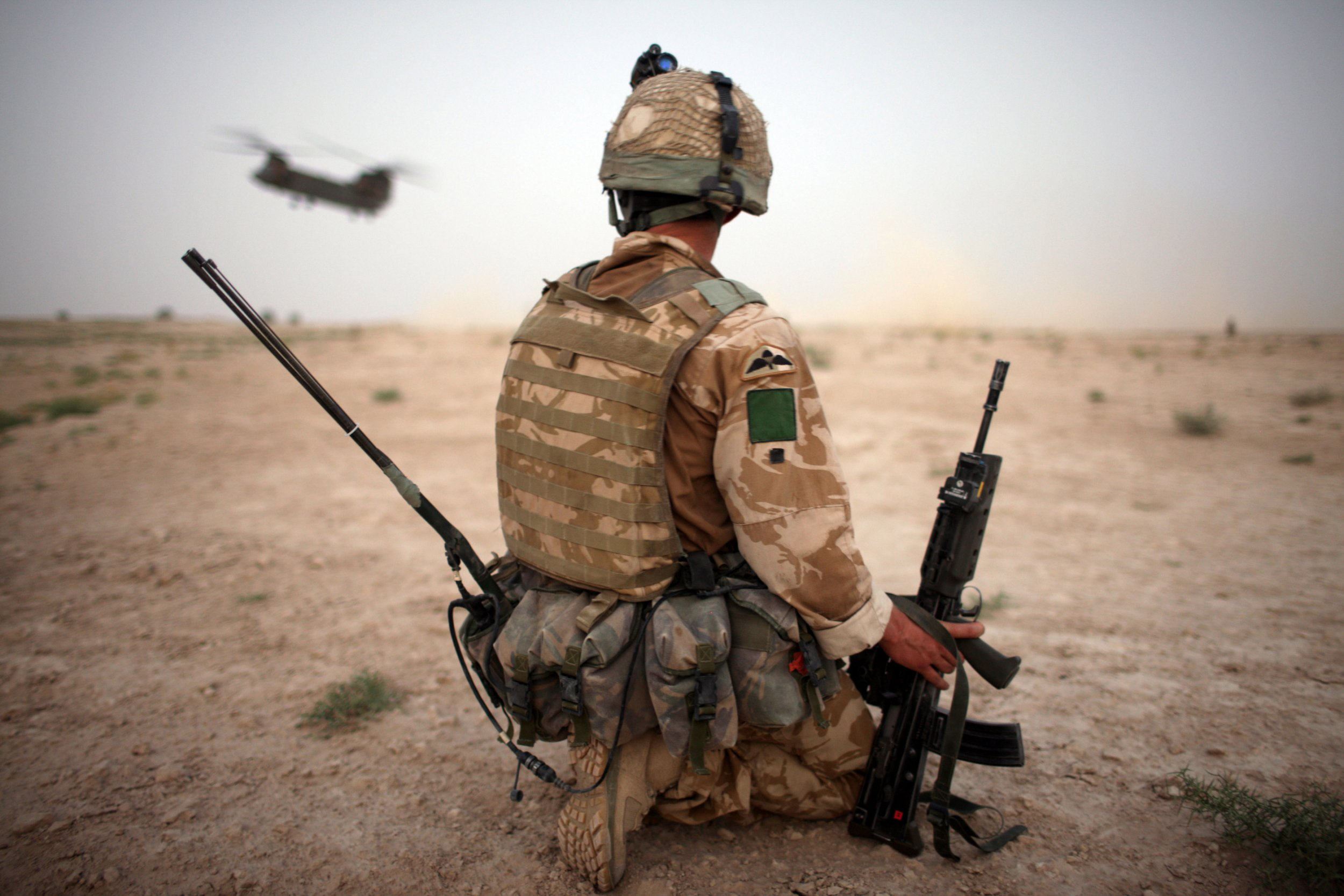 Veteran suicide is a 'hidden epidemic and the government is ignoring it'