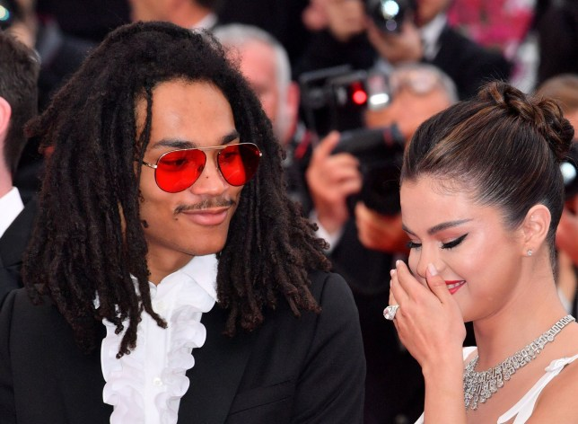 Mandatory Credit: Photo by Anthony Harvey/REX (10236787ea) Luka Sabbat and Selena Gomez 'The Dead Don't Die' premiere and opening ceremony, 72nd Cannes Film Festival, France - 14 May 2019