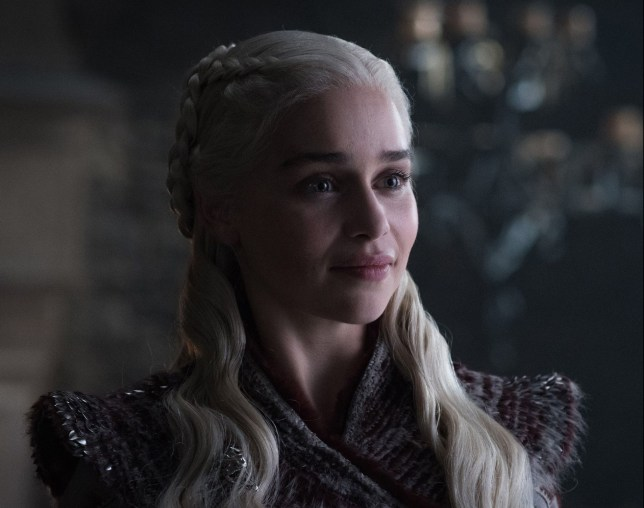 Editorial use only. No book cover usage. Mandatory Credit: Photo by HBO/BSkyB/Kobal/REX/Shutterstock (10222109ax) Emilia Clarke as Daenerys Targaryen 'Game of Thrones' TV Show Season 8 - 2019 Nine noble families fight for control over the mythical lands of Westeros, while an ancient enemy returns after being dormant for thousands of years.