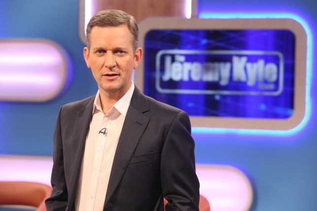 Jeremy Kyle on set of the now-cancelled The Jeremy Kyle Show