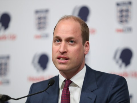 Prince William calls on men to talk about mental health in new FA campaign