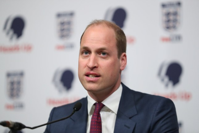 LONDON, ENGLAND - MAY 15: Prince William, Duke of Cambridge, President of the Football Association (FA), attends the launch of a new mental health campaign at Wembley Stadium on May 15, 2019 in London, United Kingdom.