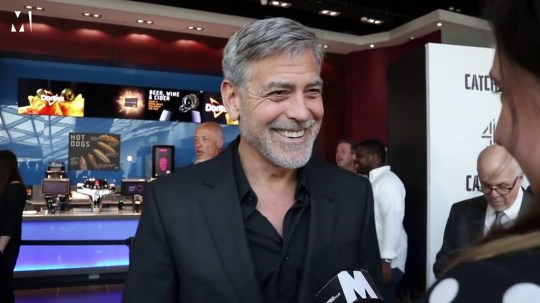 George Clooney held at gunpoint