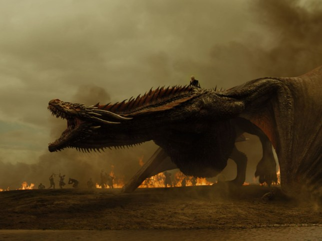 Where did Drogon go in Game of Thrones finale episode