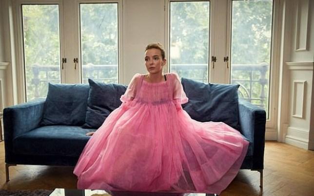 Jodie Comer Killing eve Villanelle dress