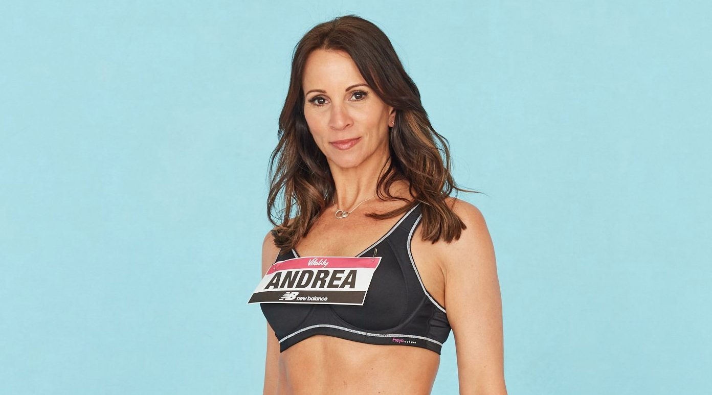Brave Andrea McLean strips down to underwear after admitting she's insecure over hysterectomy scars