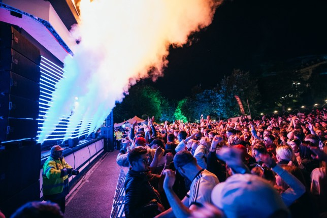 The FLY Open Air festival has banned phones
