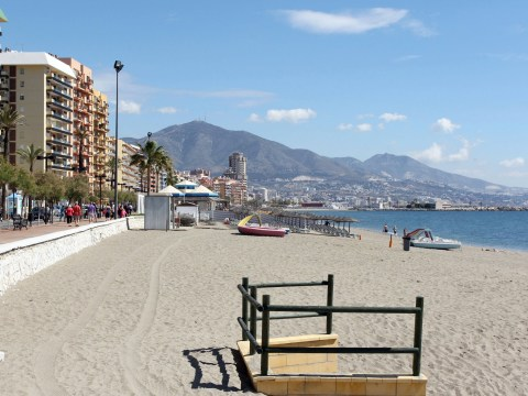British tourist dies swimming off the Costa del Sol