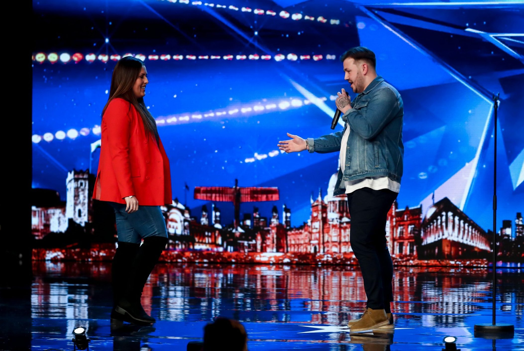 Simon Cowell tears up as contestant gets down on one knee in first ever Britain's Got Talent proposal