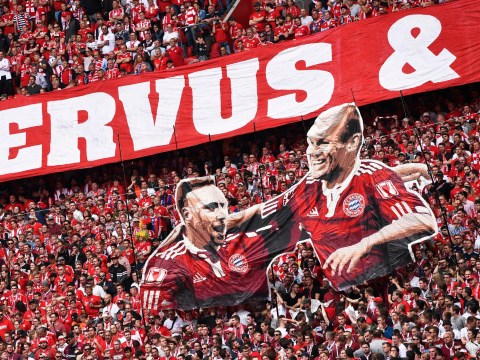 Franck Ribery and Arjen Robben sign off in style as Bayern Munich win Bundesliga title