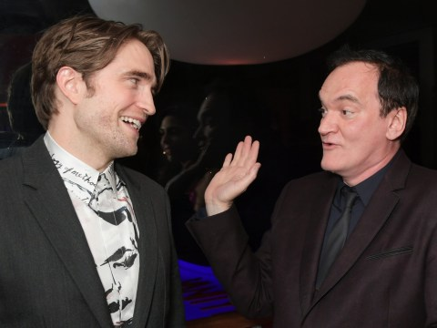 Robert Pattinson ignores Batman casting backlash hanging out with Quentin Tarantino in Cannes