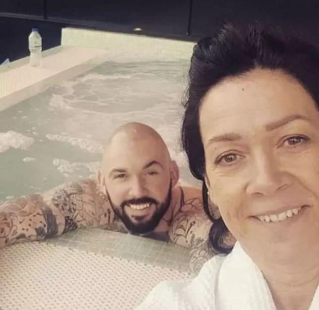Drug dealer enjoys spa date with mum. Luke Jewitt