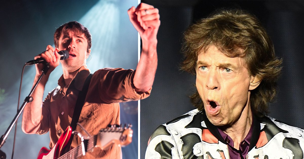 The Vaccines left Mick Jagger hanging when he went in for a fist pump and it's all levels of cringe