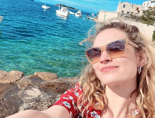 Lily James sparks rumours of a Mamma Mia 3 as she returns to Croatia