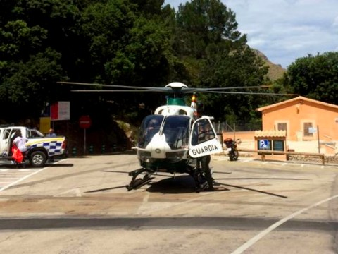 British toddler 'slips from mum's arms and falls 20ft in Mallorca'