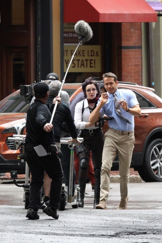 Ryan Reynolds and Killing Eve's Jodie Comer spotted filming video