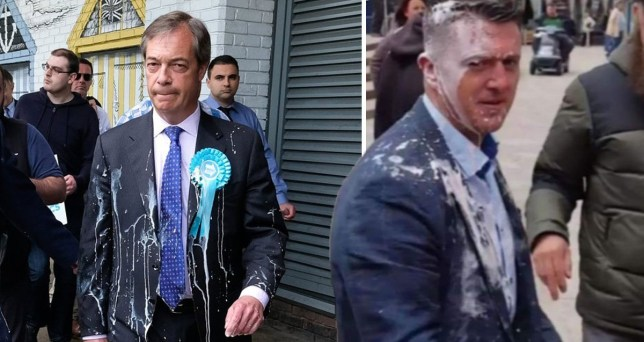 How to get milkshake out of a suit