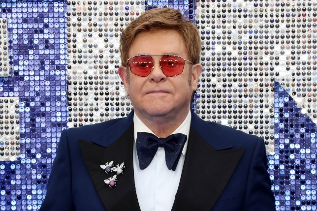 Sir Elton John at the Rocketman premiere