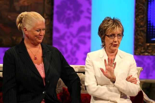 Kim Woodburn and Aggie MacKenzie