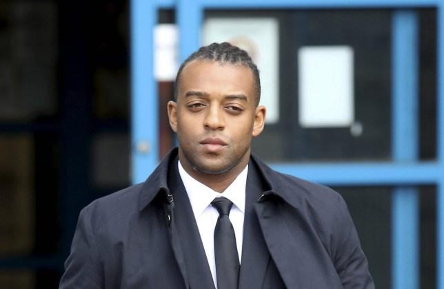 JLS star Oritse Williams leaving Wolverhampton Crown Court