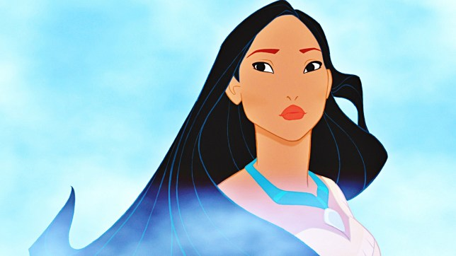 Pocahontas cartoon