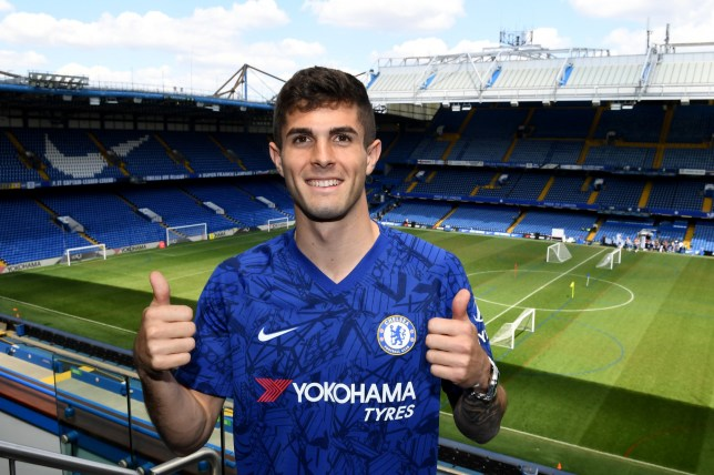 Christian Pulisic is reporting to Chelsea's pre-season training next week