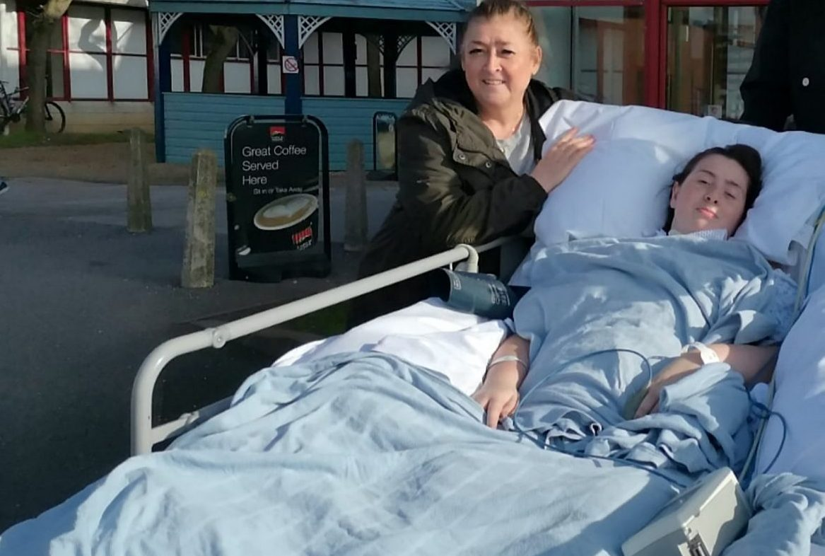 Woman left paralysed after thinking her illness was just a cold