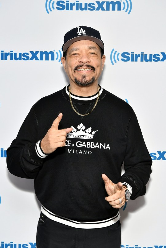 NEW YORK, NY - NOVEMBER 14: (EXCLUSIVE COVERAGE) Actor/rapper Ice-T visits SiriusXM Studios on November 14, 2018 in New York City. (Photo by Slaven Vlasic/Getty Images)