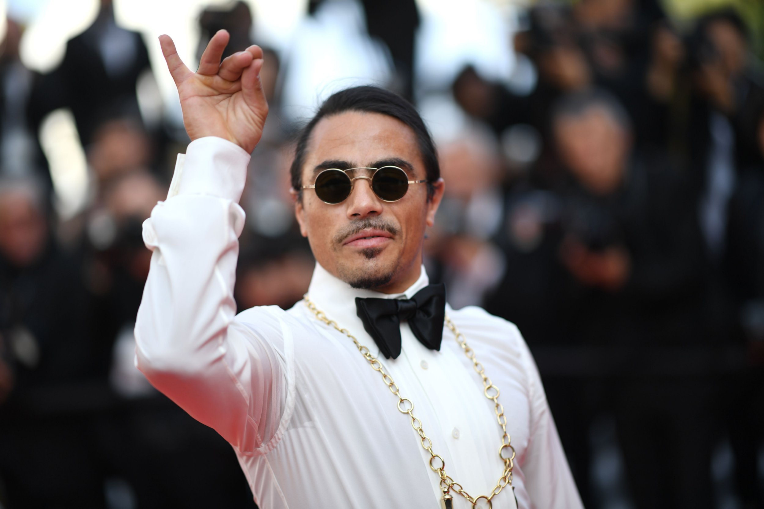 Salt Bae is such a hero as he attends Cannes Film Festival with the world's biggest movie stars