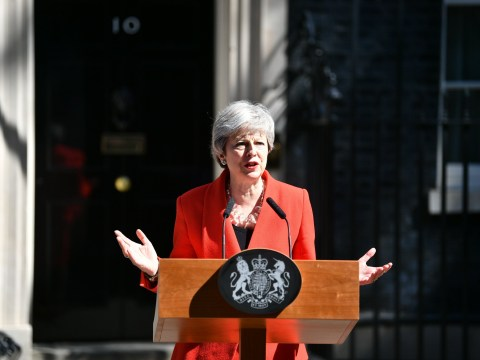 Theresa May officially stands down as Tory leader today