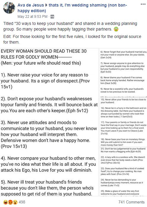 Women are shocked by this '30 Ways To Keep Your Husband