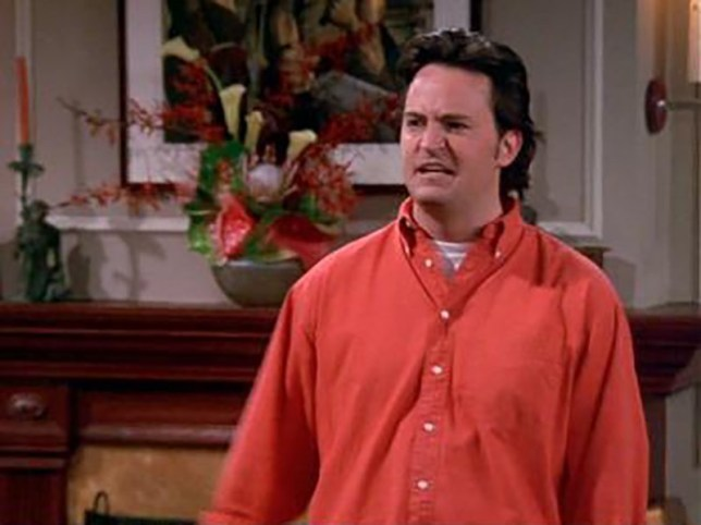 Matthew Perry axed Friends storyline