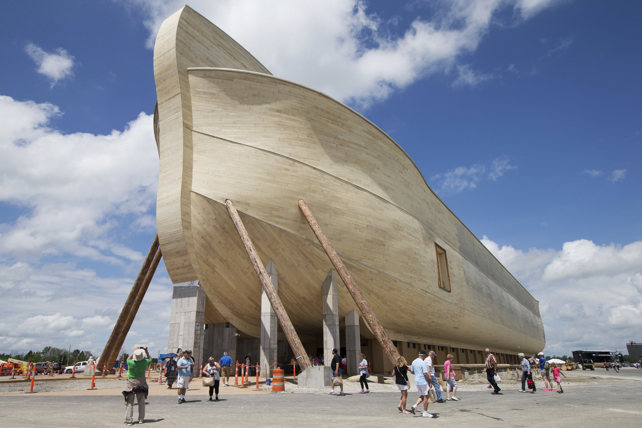 Owners of 'life-size' Noah's Ark to sue insurer for not covering flood damage
