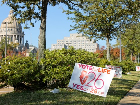 Judge blocks ban on 'heartbeat' abortions in Mississippi