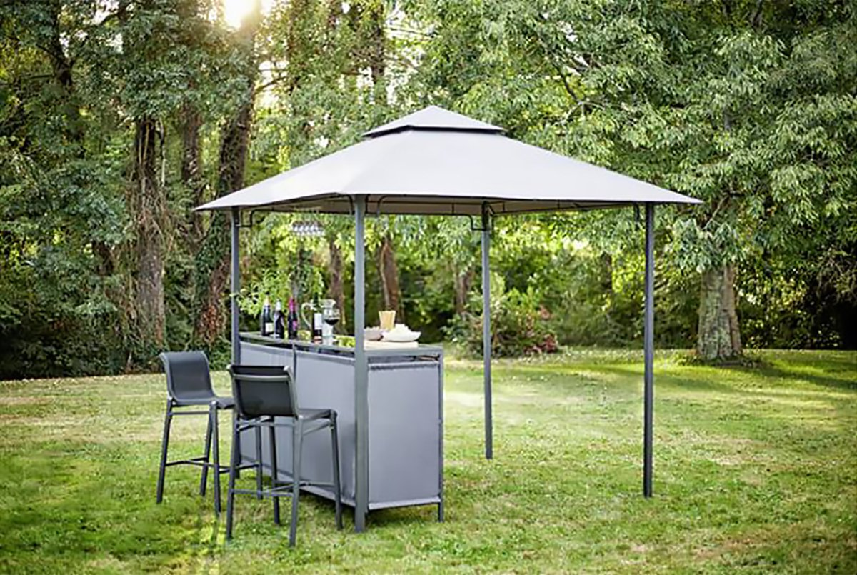 Argos is selling a gazebo with a built-in bar for just £198
