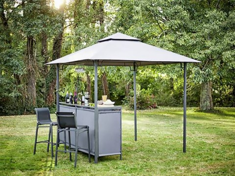 Argos is selling a gazebo with a built-in bar for just £198, down from £330