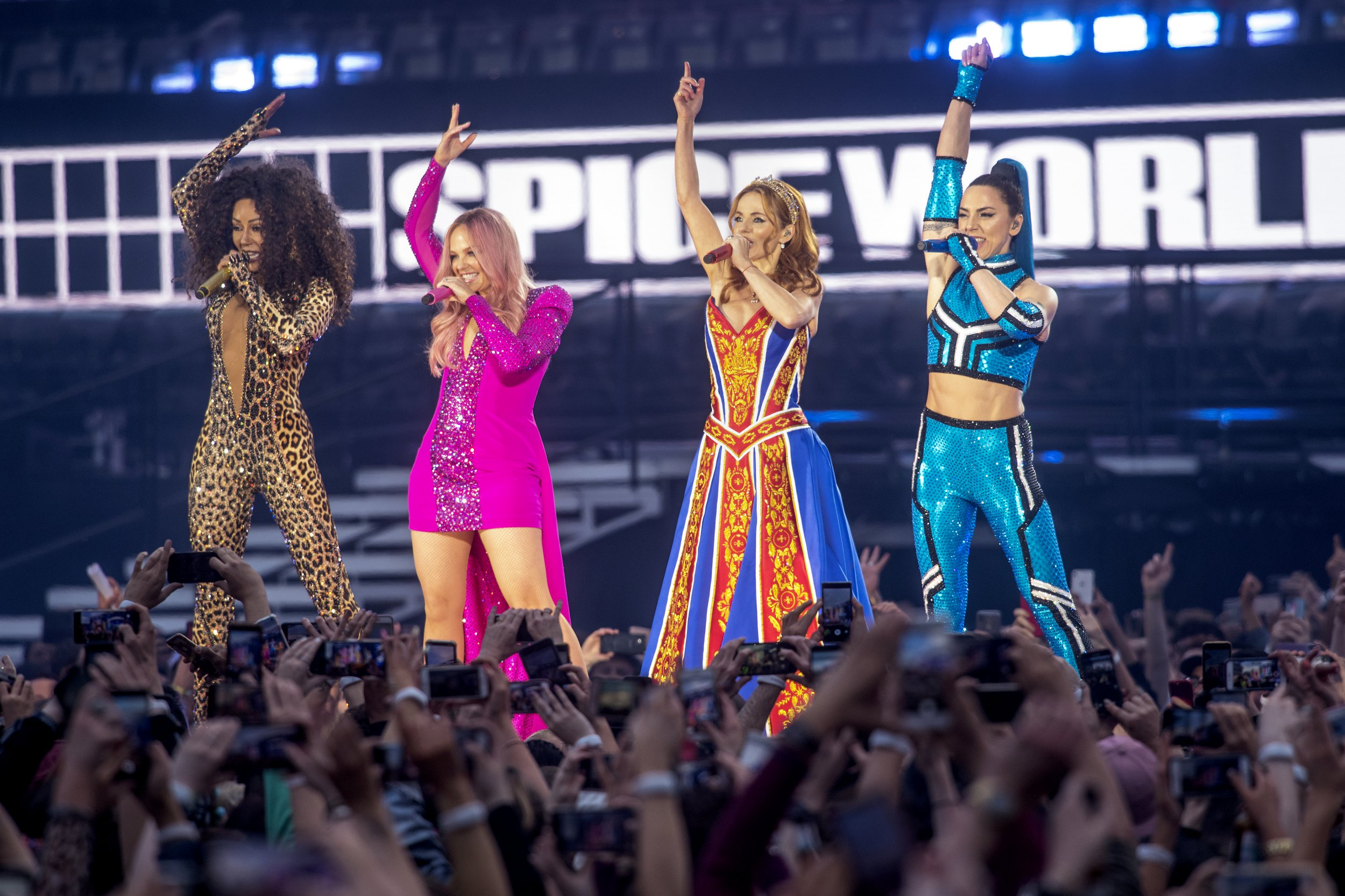 Spice Girls treat themselves to tequila shots and ice baths after kicking off comeback tour
