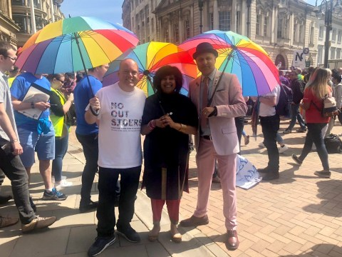 Crowds of LGBT Muslims lead their first ever pride march in Birmingham