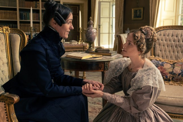 Programme Name: Gentleman Jack - TX: 26/05/2019 - Episode: Gentleman Jack - Ep 2 (No. n/a) - Picture Shows: Anne Lister (SURANNE JONES), Ann Walker (SOPHIE RUNDLE) - (C) Lookout Point/HBO - Photographer: Matt Squire