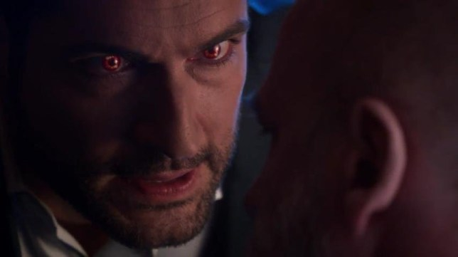 Tom Ellis - Lucifer Devils Eyes