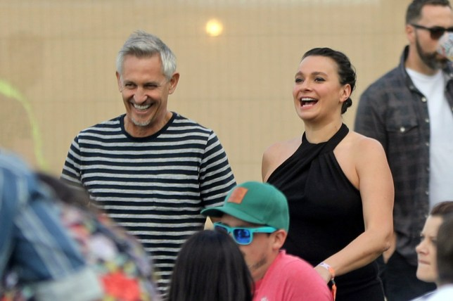 MUST BYLINE: EROTEME.CO.UK Gary Lineker is spotted with his new girlfriend at Victoria Park for the All Point East Festival where Chemical Brothers were headlining. EXCLUSIVE May 25, 2019 Job: 190525L1 London, England EROTEME.CO.UK 44 207 431 1598 Ref: 341629