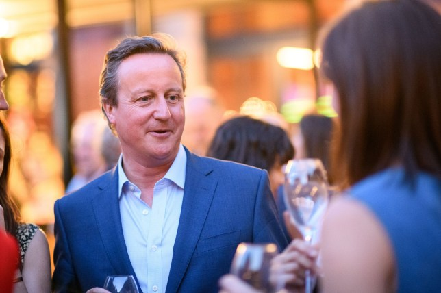 Mandatory Credit: Photo by Nick Harvey/REX/Shutterstock (9723138bj) David Cameron The Victoria and Albert Museum Summer Party, London, UK - 20 Jun 2018