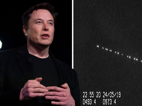Elon Musk sparks 'UFO invasion fleet' fears after launching 60 satellites into orbit